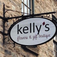 Kelly's Flowers Sign
