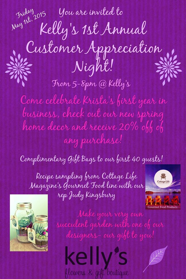 Customer Appreciation Night