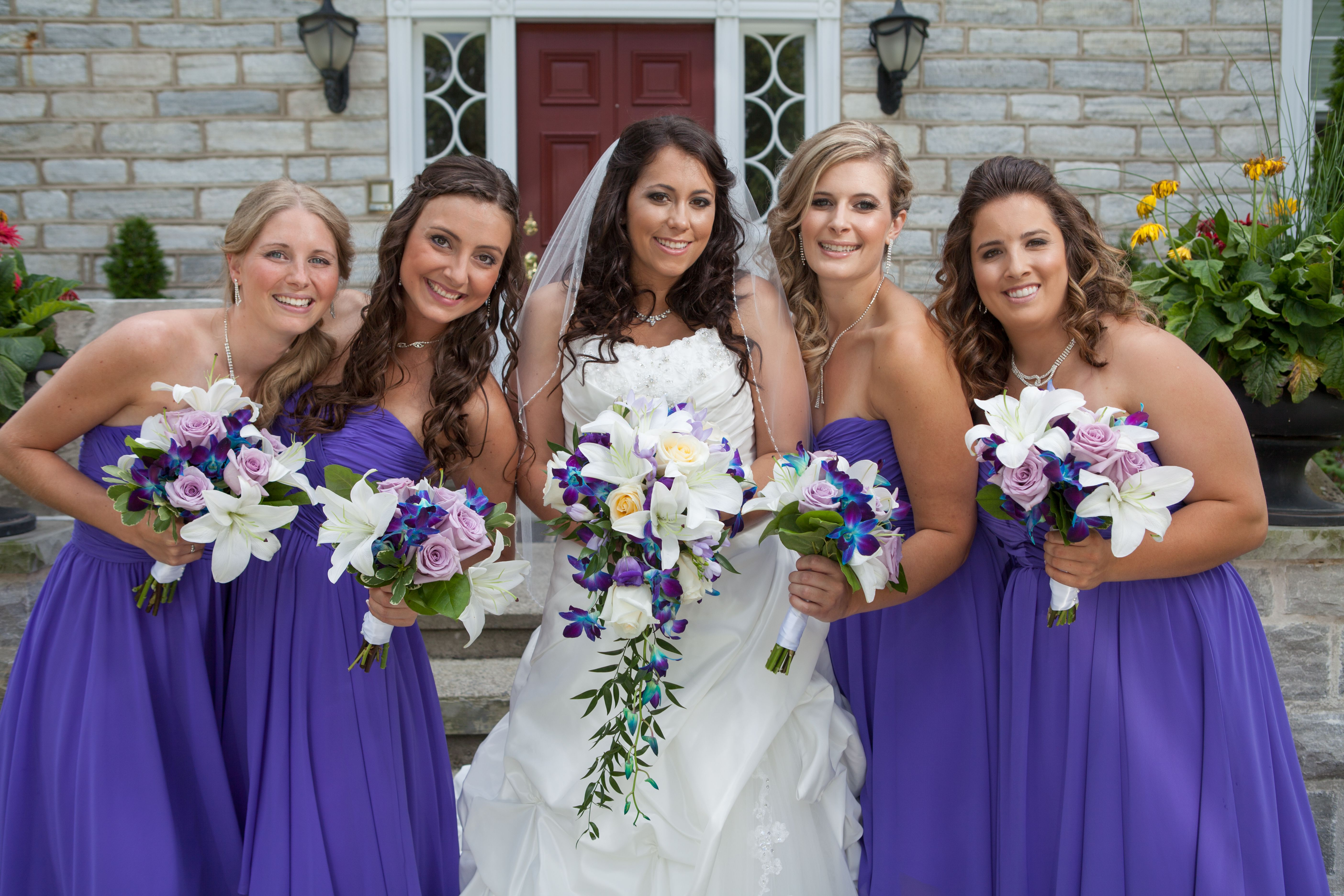 purpleweddingflowers