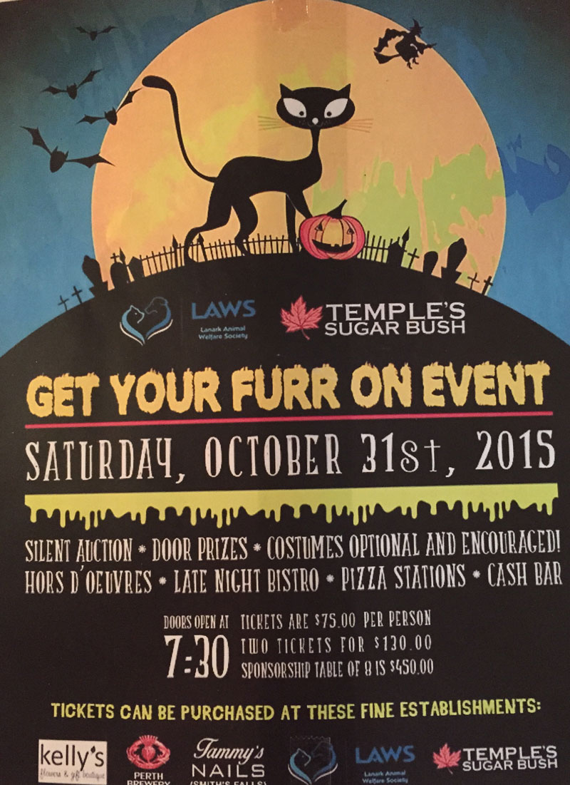 Get your Furr on Event