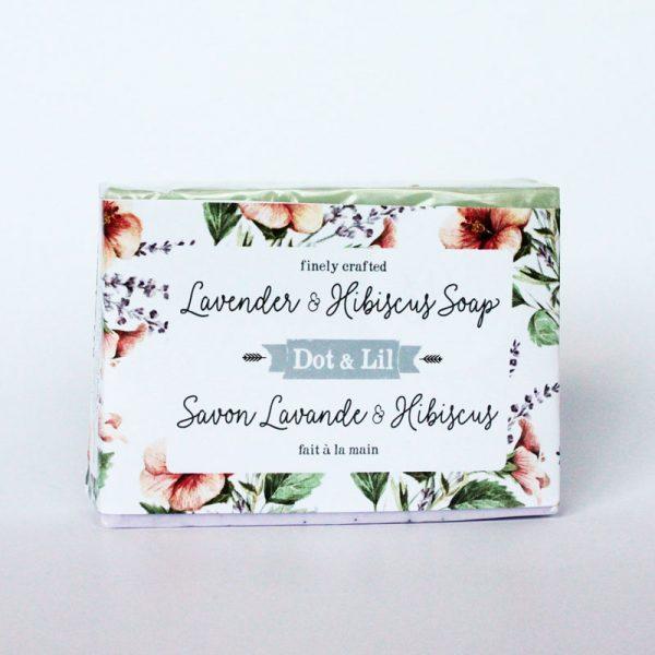 lavender-&-hibiscus-soap